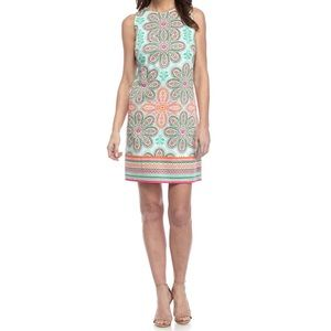 NEW London Style Floral Boarder Print Dress| 18